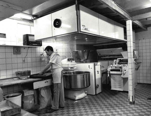 Bakker in De oude Bakkerij